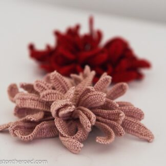 Easy Chrysanthemum Flower Irish Crochet