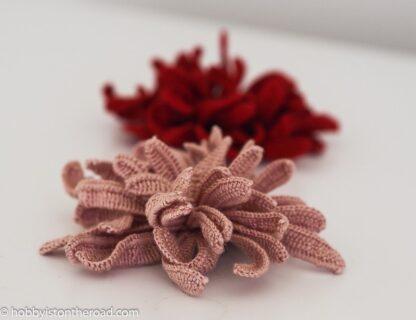 Easy Chrysanthemum Flower Irish Crochet