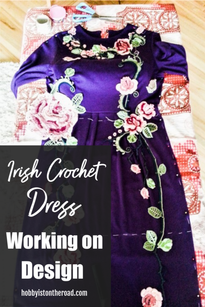 Irish crochet dress design pinterest