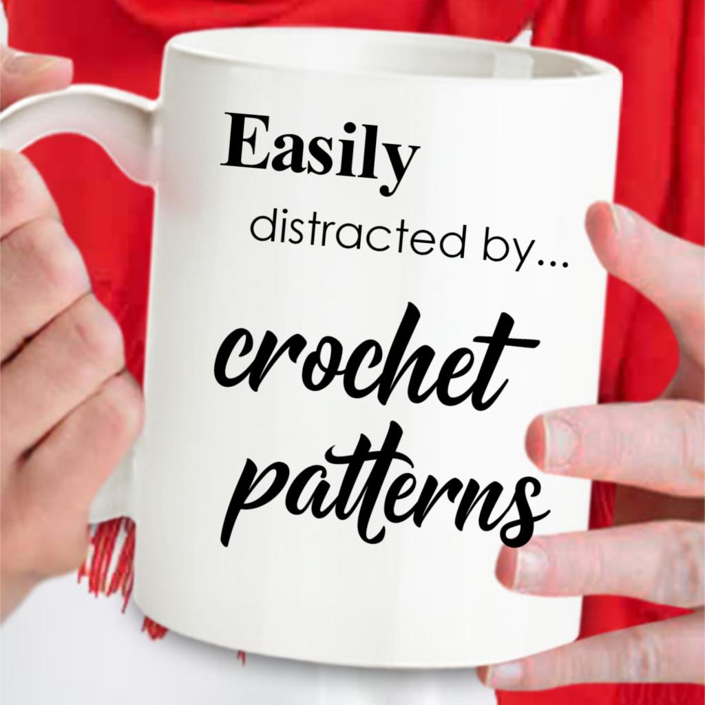 Funny crochet gift mug for  crocheter on any occasion.