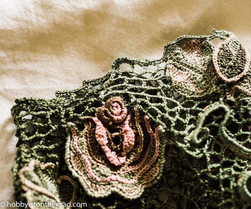 Irish Crochet Dress the Annoying Bit