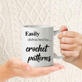 Funny Crochet mug