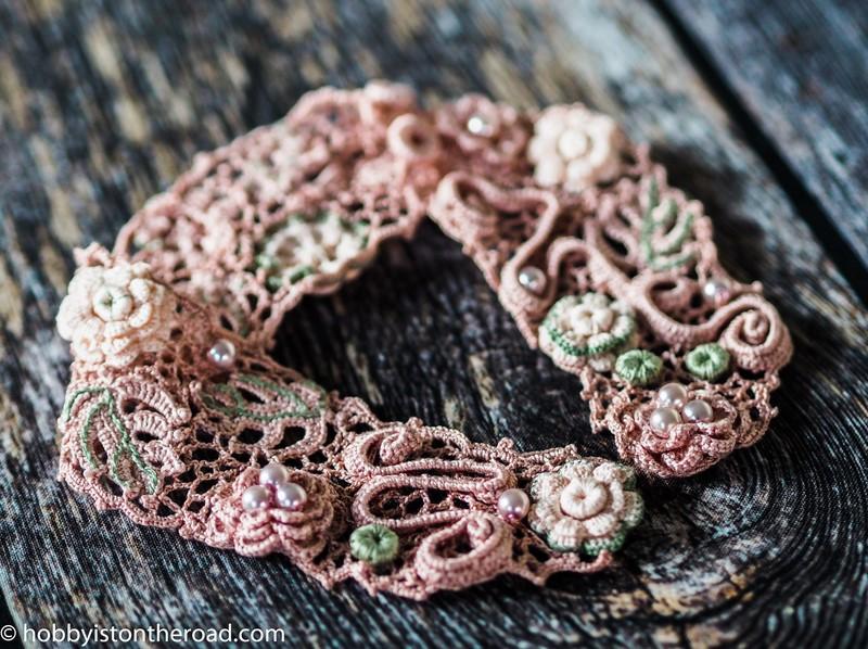 crochet choker collar