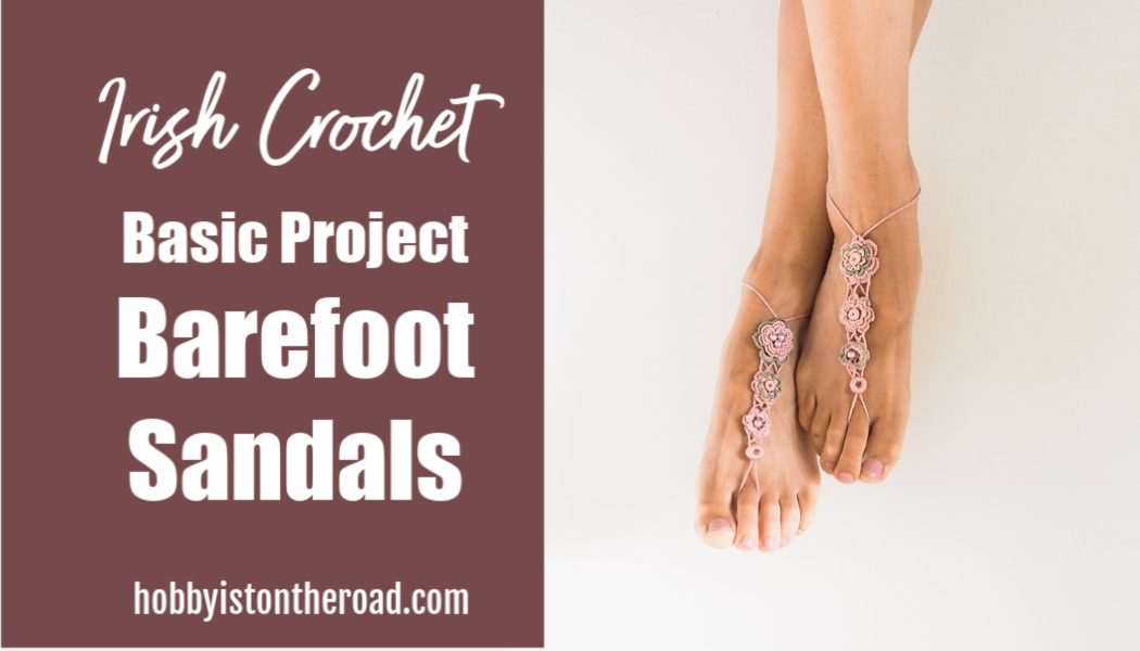 Barefoot Sandals crochet project