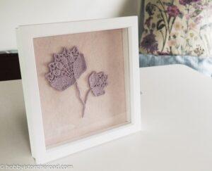 Crochet peonies picture