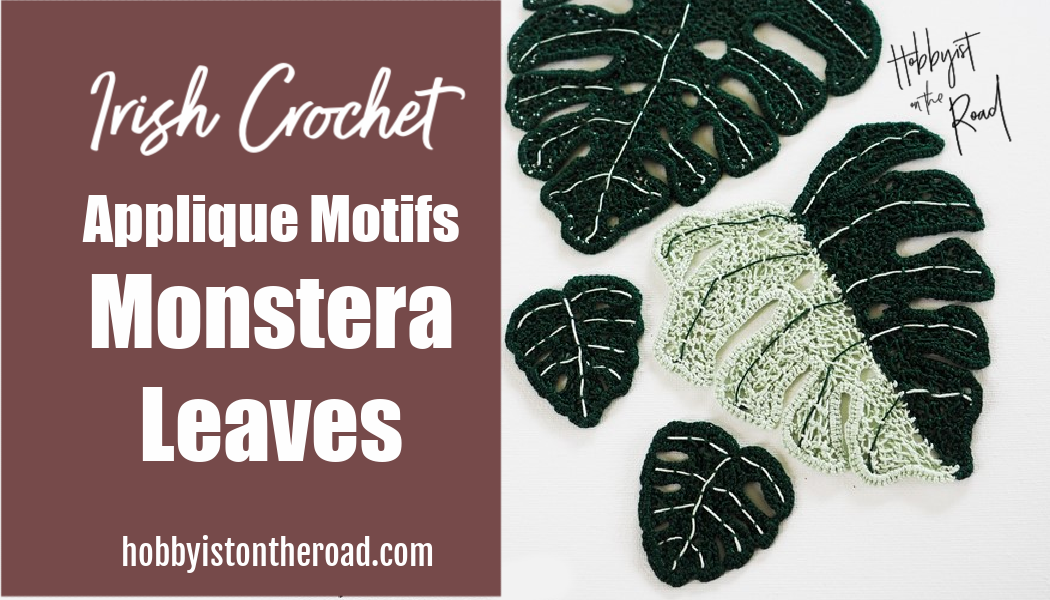 Crochet Monstera Leaves