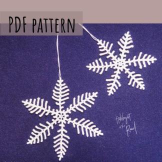 Spiky Snowflakes