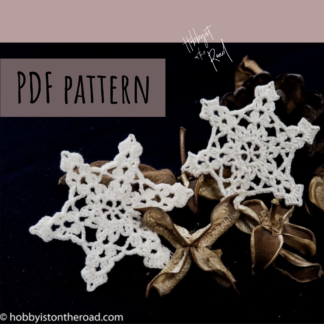 Ornate Snowflake Crochet Pattern