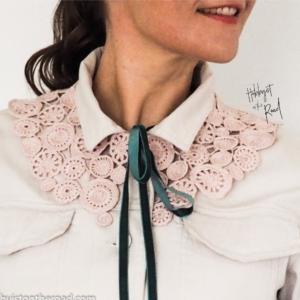 Dreamy crochet collar cal pattern