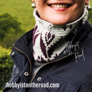 Baltic Flowers Cowl Crochet Pattern