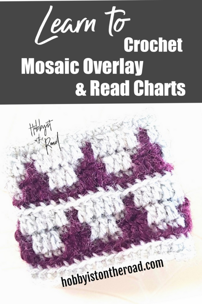 Pin the post Learn to crochet Mosaic Overlay and Read Charts